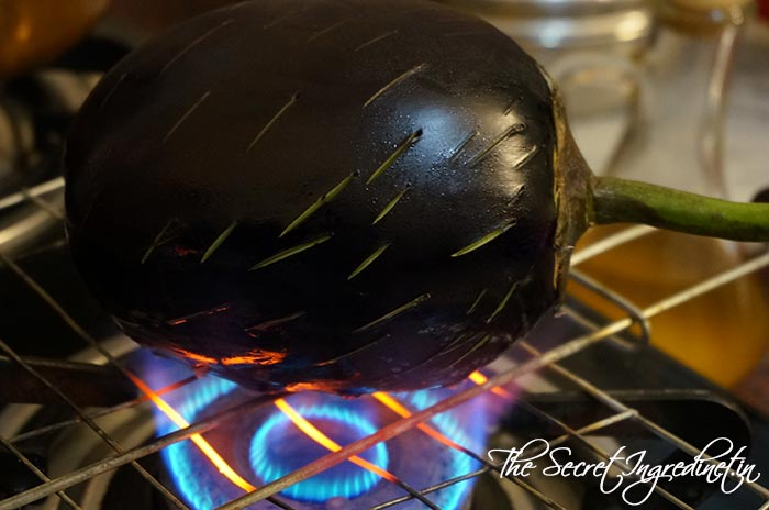 How To Roast Eggplant On Stovetop 171 The Secret Ingredient