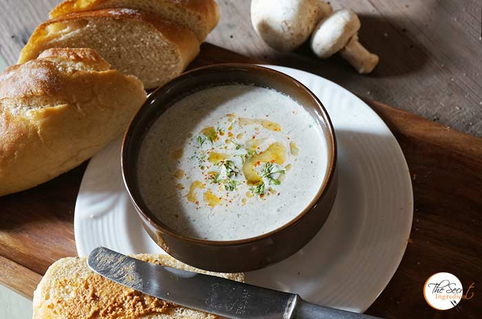 Classic Cream of Mushroom Soup Recipe » The Secret Ingredient