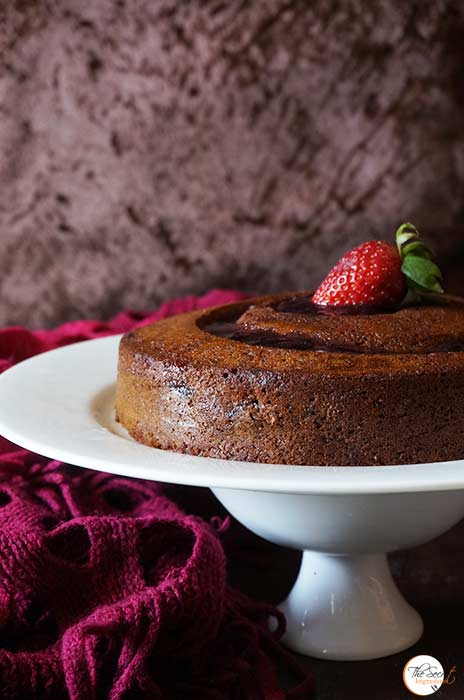 Eggless Grape Cake Recipe