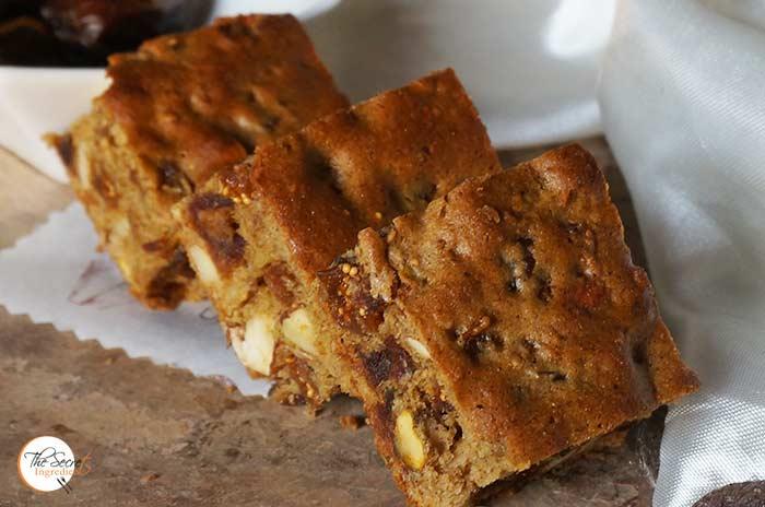 Honey Dates Square Historic Recipe Vintage Honey Figs