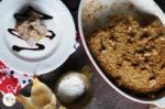 Banana Bread Baked Oatmeal with Toasted Walnuts Recipe