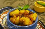 Punjabi Style Bharwan Tinda | Stuffed Indian Round Gourd | Spicy Stuffed Apple Gourd
