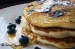 Blueberry Buttermilk Pan Cakes