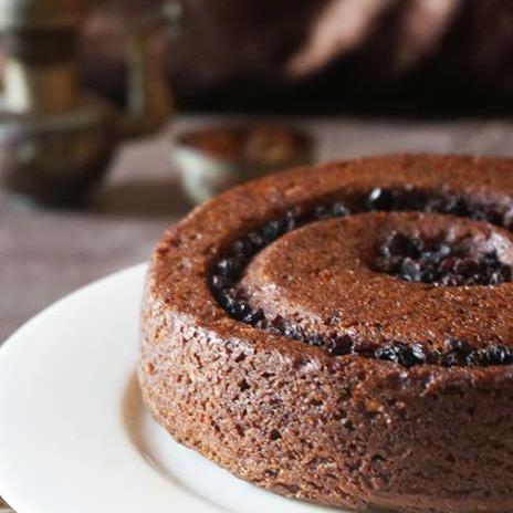 Persimmon Buckwheat Gluten Free Cake | Gluten Free Persimmon Cake