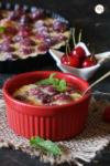 Cherry Clafoutis | French Cherry Flan