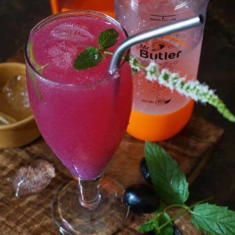 Java Plum Lemonade with Mr. Butler Sodamaker