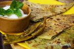 Matar Ka Parantha | Indian Stuffed Flat Bread with Peas