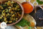 Mooli aur Mooli Ke Patton Ki Sabzi | Radish & Radish Greens In Indian Spices