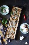Mushroom Spinach Quiche - Eggee