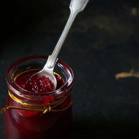 Plum Ginger Jam | 4 Ingredient Plum Ginger Jam Recipe | Alubukhara Adrak Jam