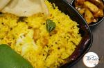 Raw Mango Rice | Manga Sadam | Andhra Style Mango Rice | Mamidikaya Pulihora