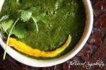 Palak Dhaniya Chutney | Spinach Coriander Salsa | Phalahari Chutney
