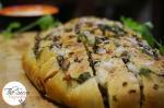 Stuffed Mushroom Cheesy Crack Bread | Cheesy Mushroom Pull Apart Bread