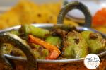 Bharwan Touri | Stuffed Smooth Gourd | Stuffed Turai with Pyaaz