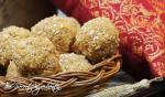 Tilkoot | Pounded Sesame balls with Jaggery