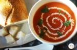 Home Style Tomato Soup | Easy Vegetarian Tomato Soup