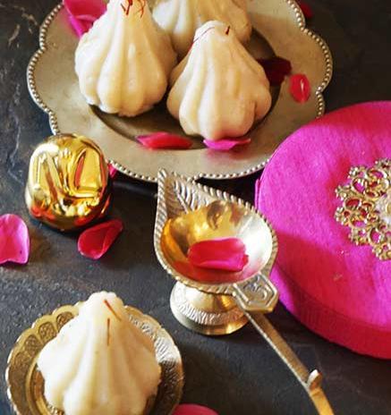 Ukadiche Modak | Sweet Steamed Dumplings