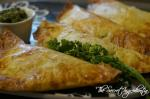 Aloo Patty | Phyllo Triangles Stuffed with Potatoes | Stuffed Phyllo Pastries